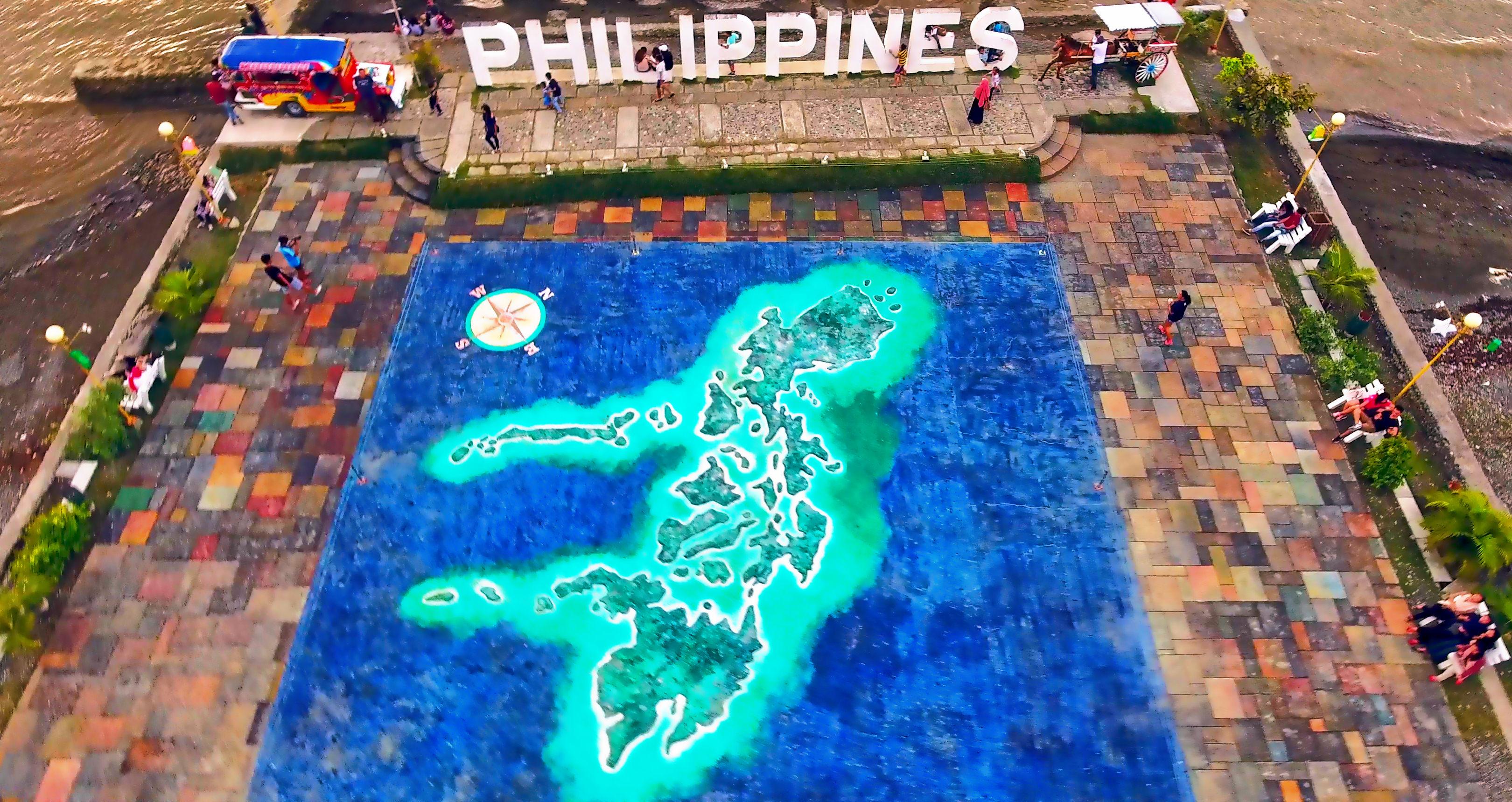 Video Gigantic Philippine Map At Paseo De Santiago Iligan