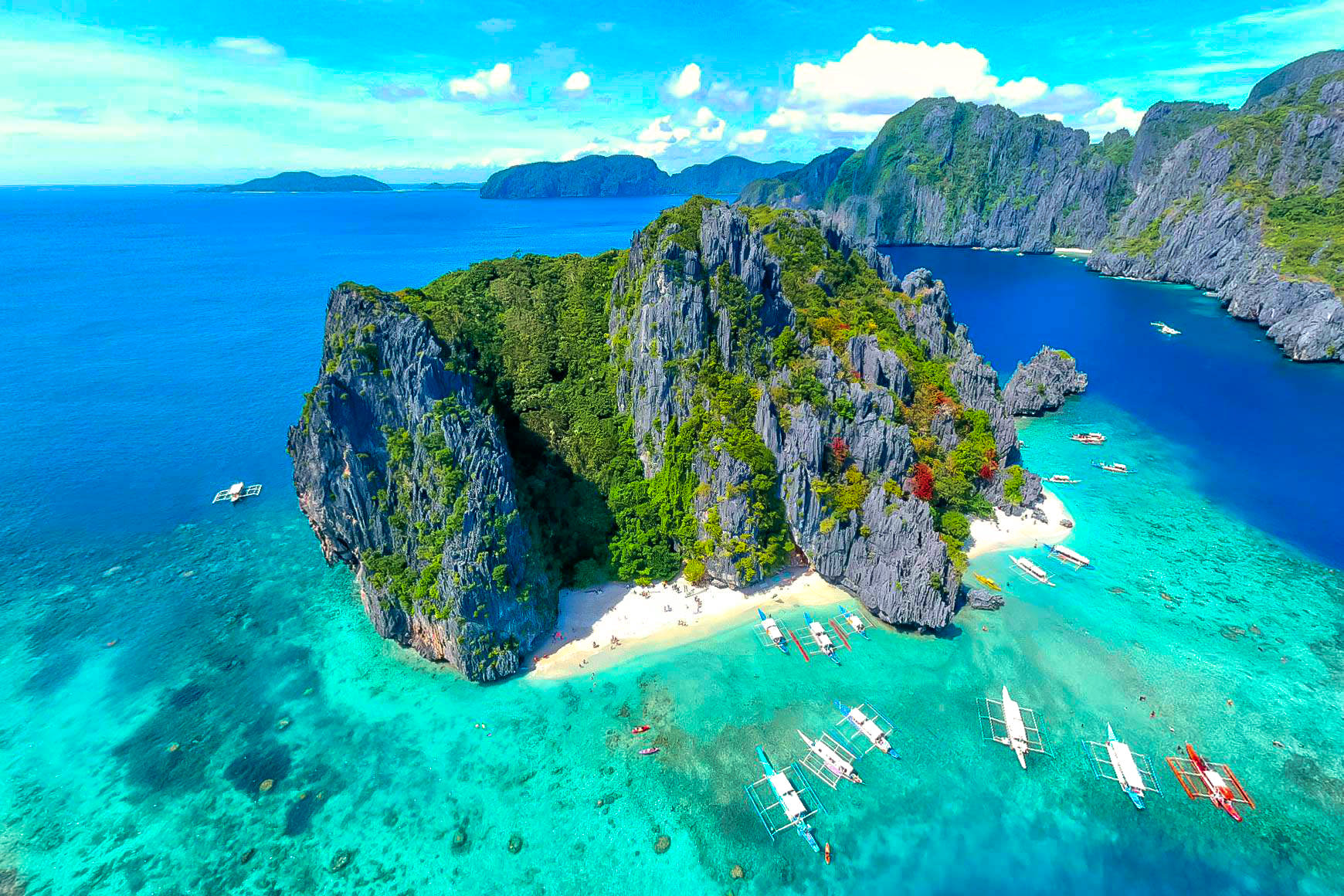 PHOTOS: Spectacular El Nido Palawan Philippines Aerial View